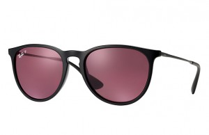Okulary RAY BAN 4171 ERIKA Black / Polarized Purple ORB4171-601/5Q
