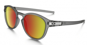 Okulary OAKLEY LATCH Matte Grey Ink / Ruby Iriidium oo9265-15