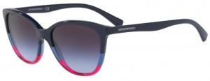 Okulary Emporio Armani 4110 Violet Blue Strawberry / Violet Gradient Grey EA4110-56334Q