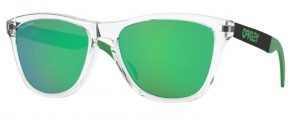 Okulary OAKLEY FROGSKIN MIX Polished Clear / Prizm Jade 9428-04