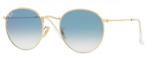 Okulary RAY BAN ROUND METAL Arista / Gradient Blue ORB3447N-001/3F