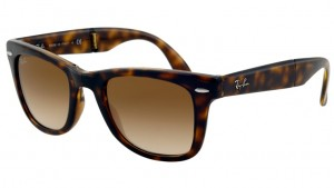 RAY BAN WAYFARER FOLD. Shiny Avana / Brown ORB4105-710/51