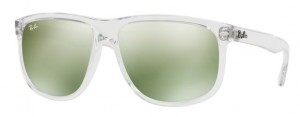 Okulary RAY BAN 4147 Transparent / Green Flash Silver ORB4147-632530