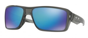 Okulary OAKLEY DOUBLE EDGE grey Smoke / Prizm Sapphire Polarized oo9380-06