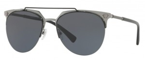Okulary Versace Matte Black Gunmetal / Grey VE2181-100187