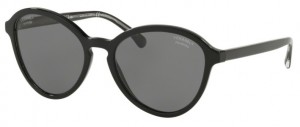 Okulary CHANEL Black / Polarized Grey CH5403-C501T8