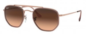 Okulary RAY BAN 3648M MARSHAL II Copper / Pink Gradient Brown ORB3648M-9069A5