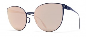 Okulary MYKITA BEVERLY F65 Navy Blue / Rose Gold Flash C216