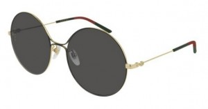 Okulary Gucci Gold / Grey GG0395S-001