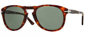 Okulary PERSOL Folding Havana / Crystal Green PO0714-24/31