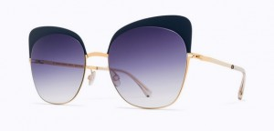 Okulary MYKITA ANNELI Gold / Indigo / Grey Gradient C256