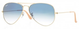 3025 AVIATOR LARGE METAL / Arista / Gradient Light Blue / ORB3025-001/3F