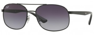 Okulary RAY BAN 3593 Black / Grey Gradient ORB3593-002/8G