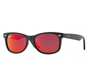 Okulary RAY BAN JUNIOR 9052S Matte Black / Red Multilayer ORJ9052S-100S/6Q