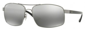 Okulary RAY BAN 3604CH Gunmetal / Grey Mirror Grey Gradient Polarized ORB3604CH-004/5J