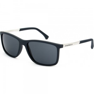 Okulary Emporio Armani 4058 Blue Rubber / Grey EA4058-547487