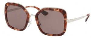 Okulary PRADA Pink Havana / Purple Brown PR57US-UE06X1