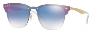 Okulary RAY BAN Gold / Gradient Blue Mirror Red ORB3576N-043/X0