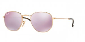 Okulary RAY BAN 3548N Gold / Wisteria  Flash ORB3548N-001/8O