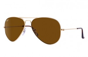 3025 AVIATOR LARGE METAL / Arista / Brown / ORB3025-001/33