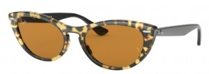 Okulary RAY BAN 4314N Havana Gialla / Yellow Mirror Gold ORB4314N-12483L