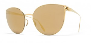 Okulary MYKITA BEVERLY F9 Gold / Gold Flash C038