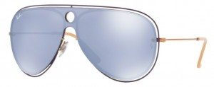 Okulary RAY BAN 3605N Copper Lillac / Dark Violet Mirror Silver ORB3605N-90991U