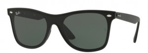 Okulary RAY BAN 4440N Matte Black / Green ORB4440N-601S71