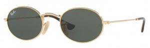 Okulary RAY BAN 3547N Gold/ Green ORB3547N-001