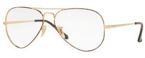 Oprawki RAY-BAN 6489 Gold Top on Havana ORX6489-2945