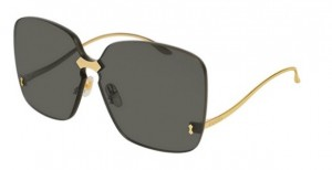 Okulary Gucci Gold / Grey GG0352S-001