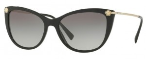Okulary Versace Black / Grey Gradient VE4345B-GB1/11