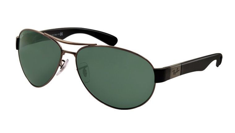 Okulary RAY BAN 3509 Gunmetal / Green ORB3509-004/71