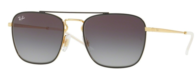 Okulary RAY BAN 3588 Gold on Top Black / Grey Gradient Dark Grey ORB3588-90548G