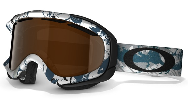 Gogle snow OAKLEY AMBUSH Brush Stroke Blue / Black Iridium 59-074