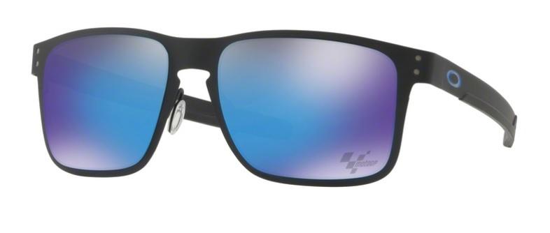 c04b18c7c2 Okulary OAKLEY HOLBROOK METAL Moto GP Matte Black   Prizm Sapphire Iridium  oo4123-10