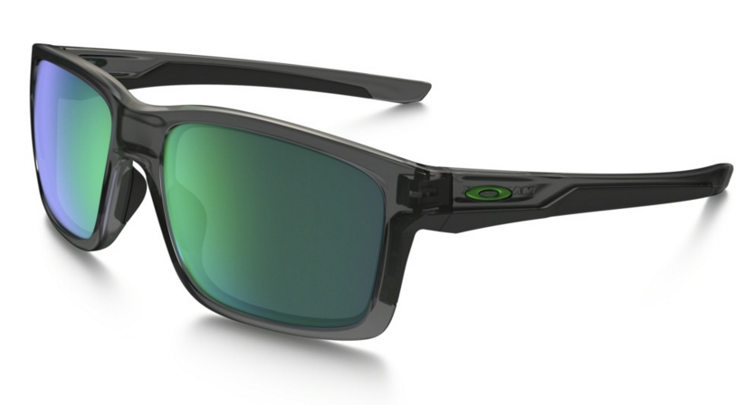 Okulary OAKLEY MAINLINK Grey Smoke / Jade Iridium oo9264-04