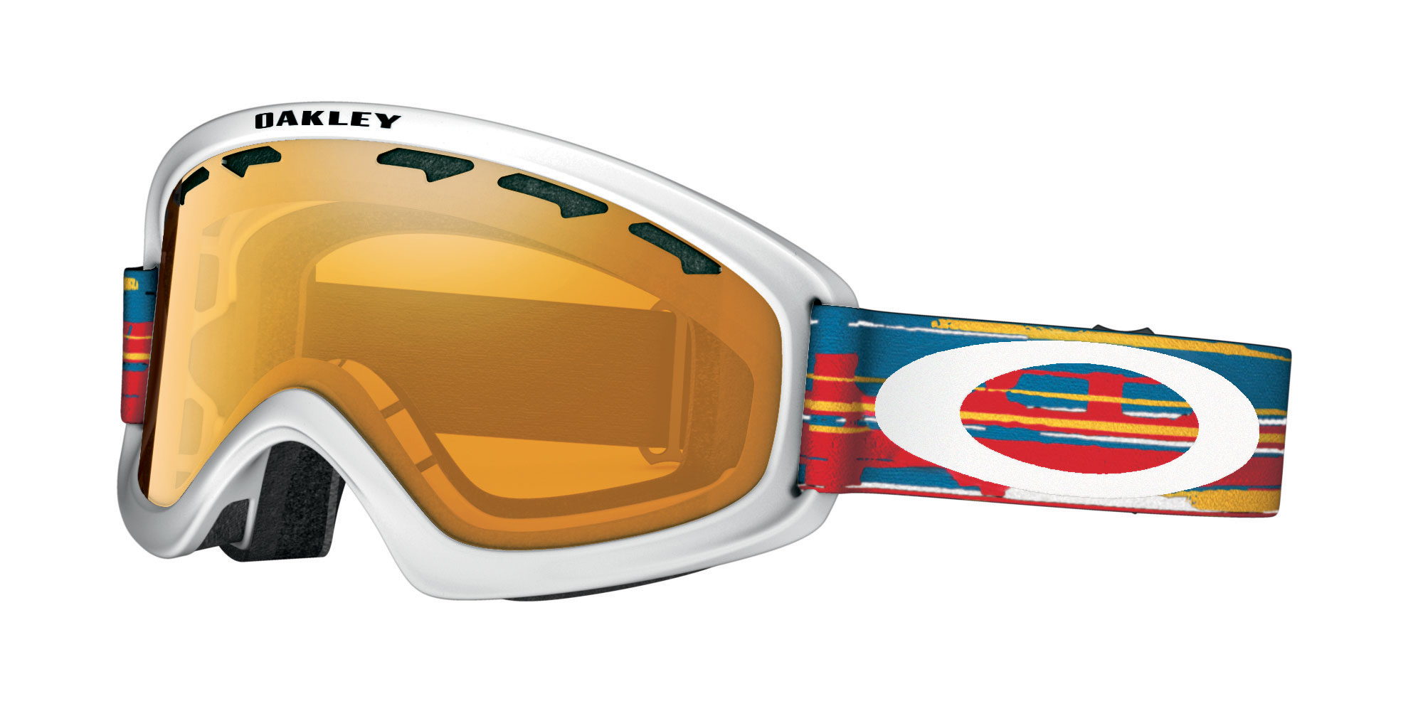 Gogle snow OAKLEY O2 XS Ripped'n'Torn Red / Persimmon 59-583