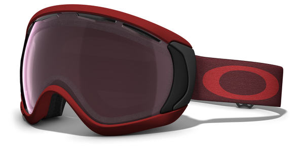 Gogle snow OAKLEY CANOPY Burnt Red / Prizm Black Iridium 59-699