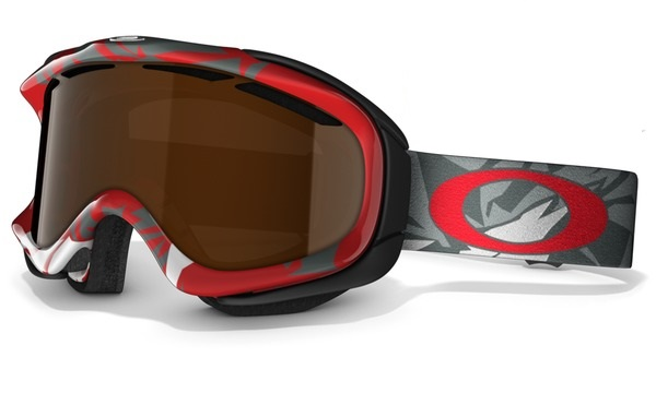Gogle snow OAKLEY AMBUSH  Glacier Red / Black Iridium 57-913
