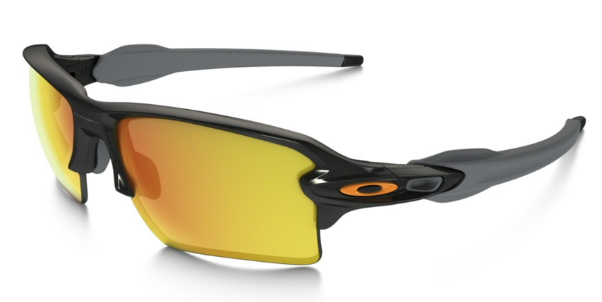 Okulary OAKLEY Flak 2.0 XL Polished Black / Fire Iridium oo9188-22