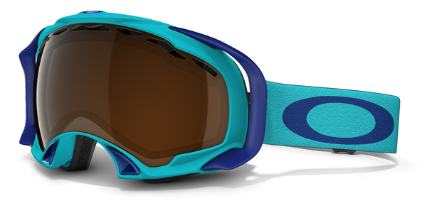 Gogle snow OAKLEY SPLICE Turquoise / Black Iridium 59-613
