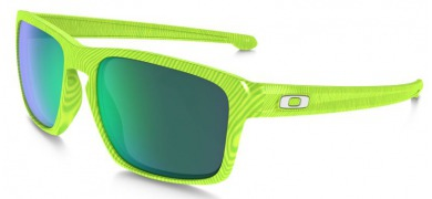 Okulary OAKLEY SLIVER Fingerprint Retina Burn / Jade Iridium oo9262-18