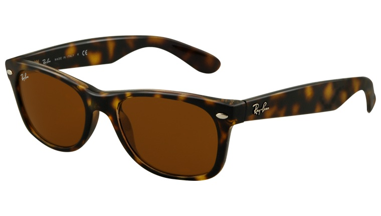 Okulary RAY BAN 2132 NEW WAYFARER Shiny Avana / B-15XLT ORB2132-710
