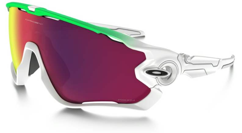 Okulary Oakley JAWBREAKER Olympic Collection Green Fade / Prizm Road oo9290-15