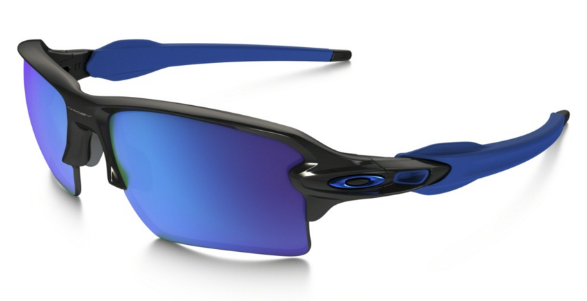 Okulary OAKLEY Flak 2.0 XL Polished Black / Sapphire Iridium oo9188-23