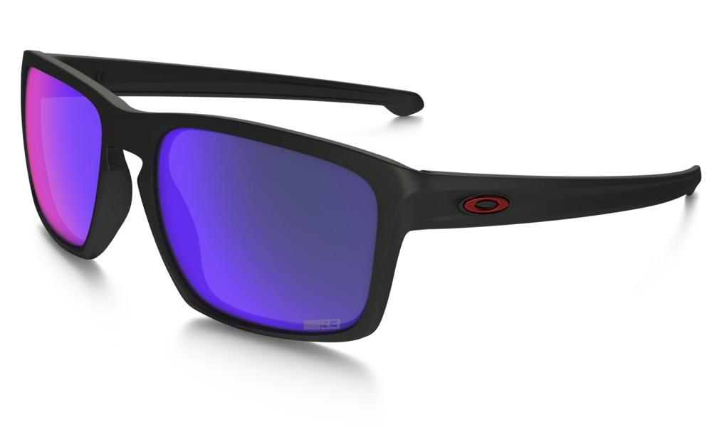 74f8ee1659 Okulary OAKLEY SLIVER Matte Black   Positive Red Iridium oo9262-20 ...