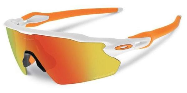 Okulary OAKLEY RADAR EV PITCH Polished White / Fire Iridium Polarized oo9211-08