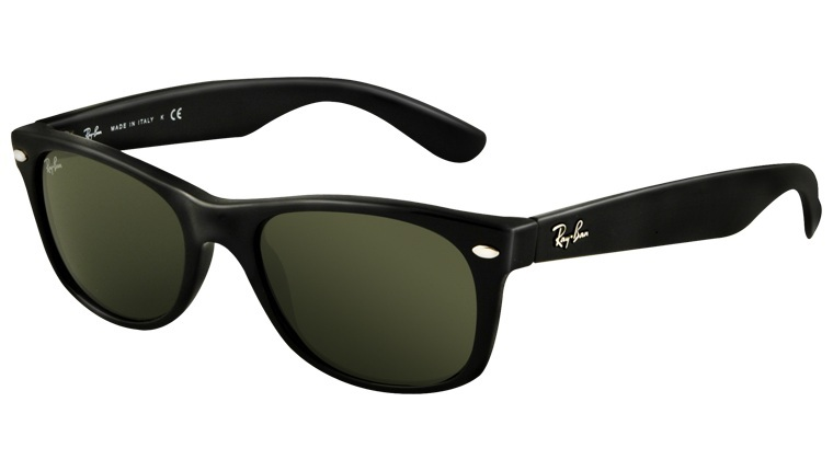 79866bdbb8 Okulary RAY BAN 2132 NEW WAYFARER Black   G-15XLT ORB2132-901 - 1242