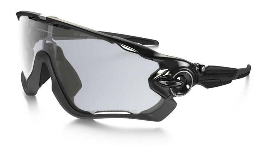Okulary Oakley JAWBREAKER Polished Black / Clear Black Iridium Photochromic oo9290-14